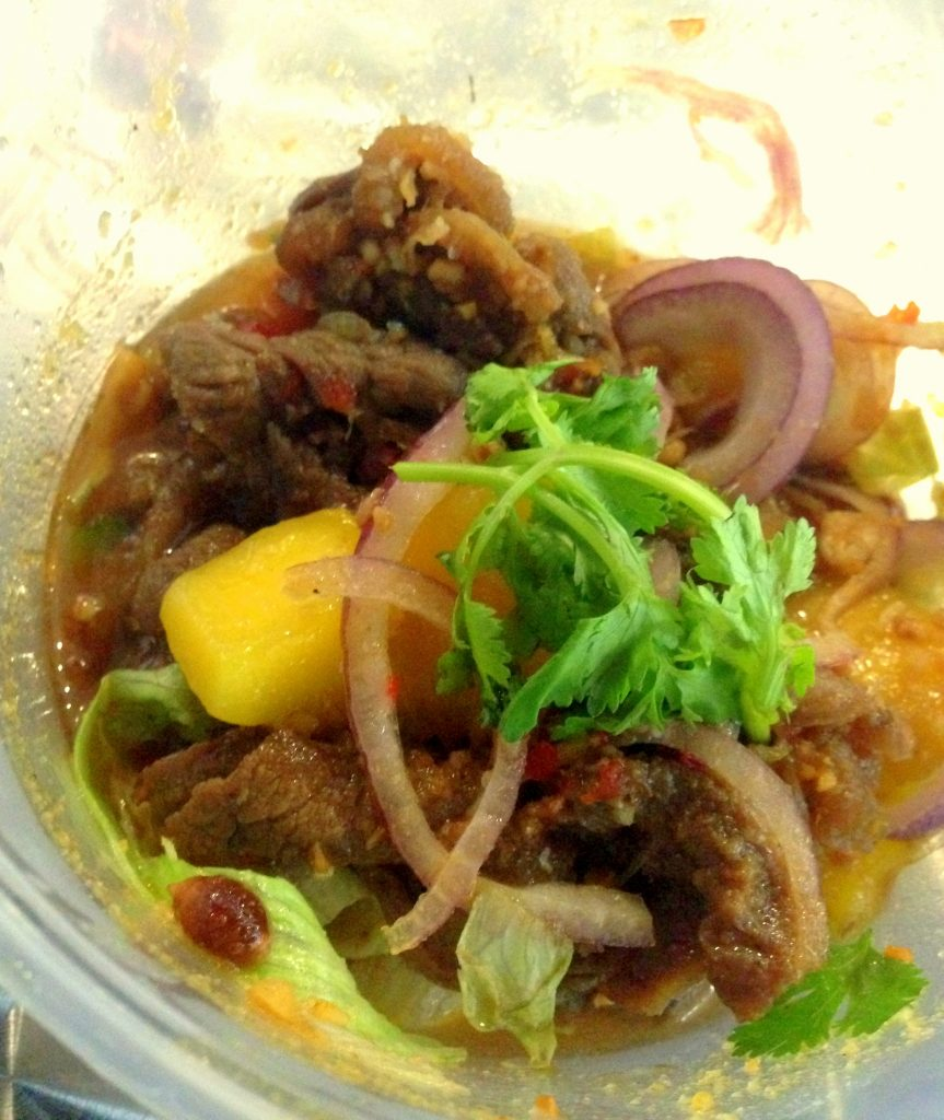 Grilled Beef with Mango Salad ($11.90)