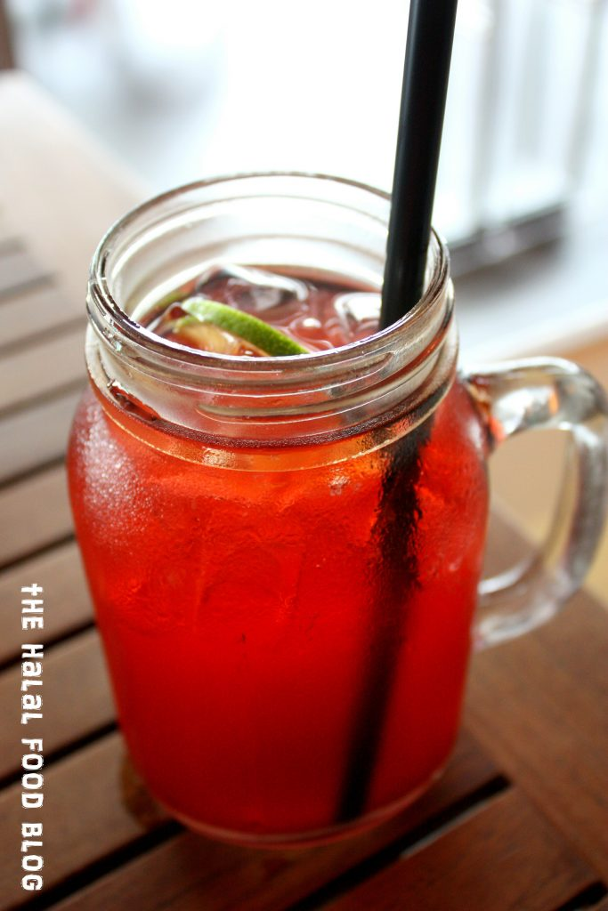 Iced Fruit Tea ($5.50)