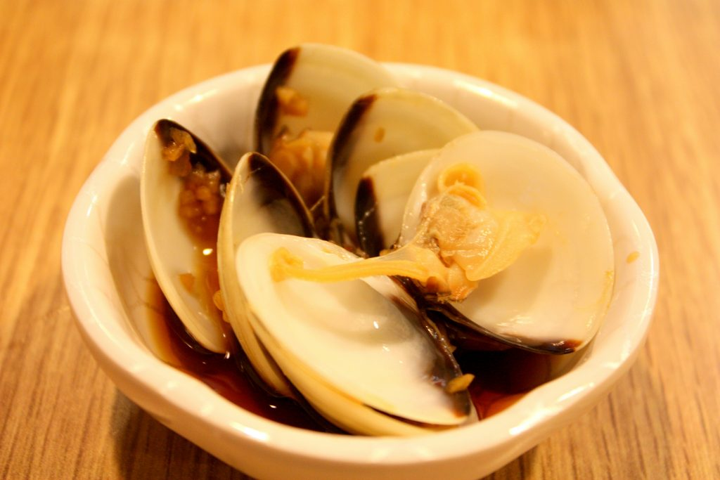 Marinated Cold Clams