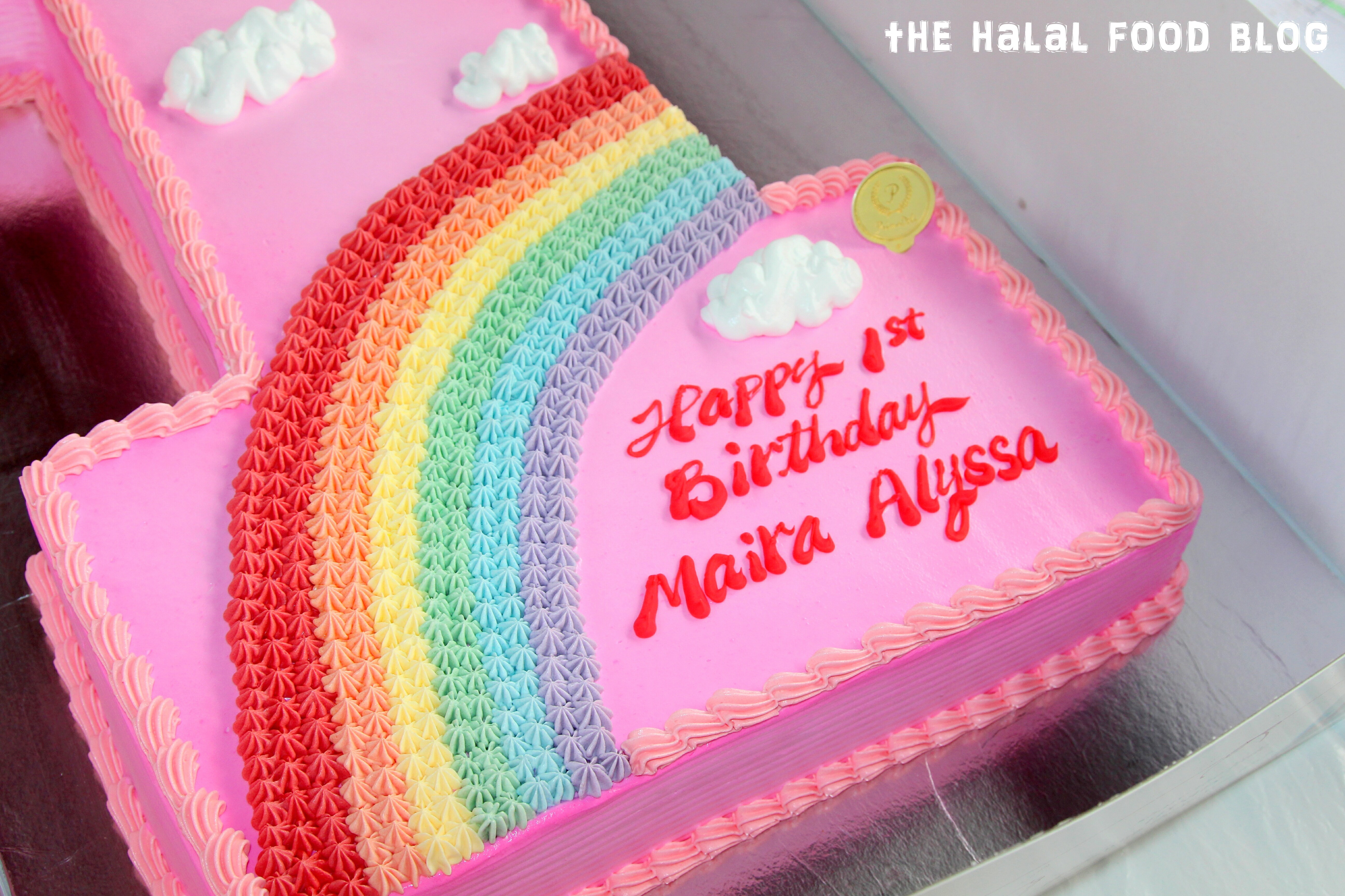 PrimaDeli Alyssas 1st Birthday Cake The Halal Food Blog