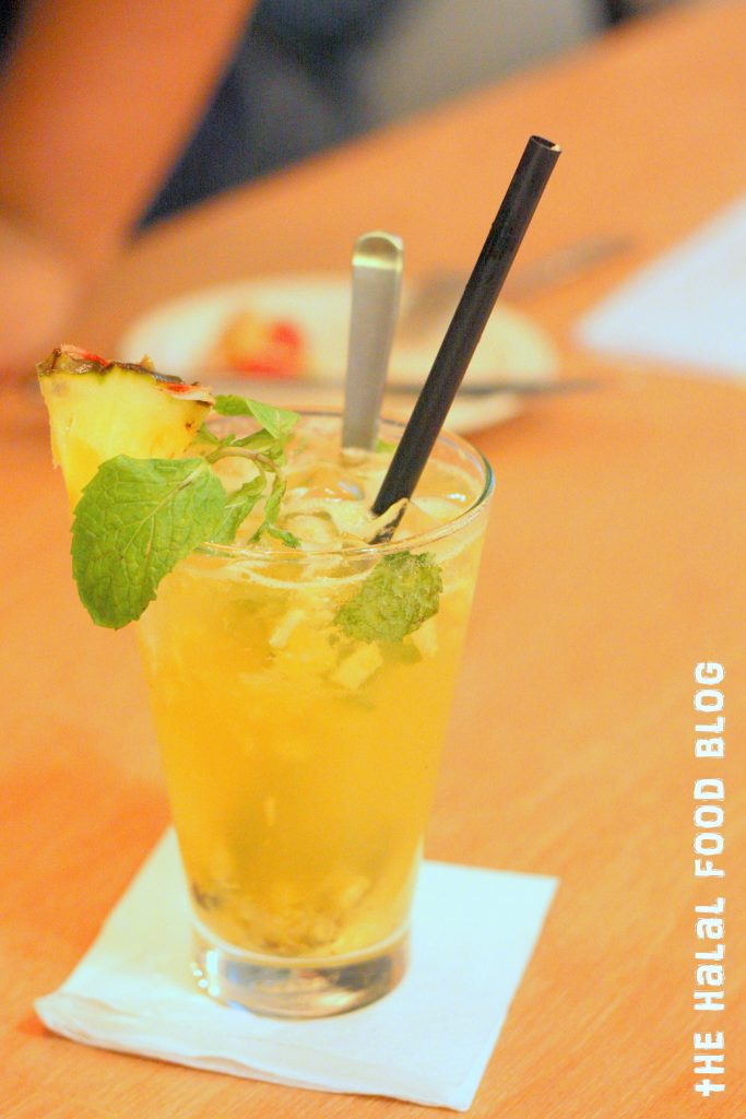 Pineapple and Passionfruit Soda ($5.50)
