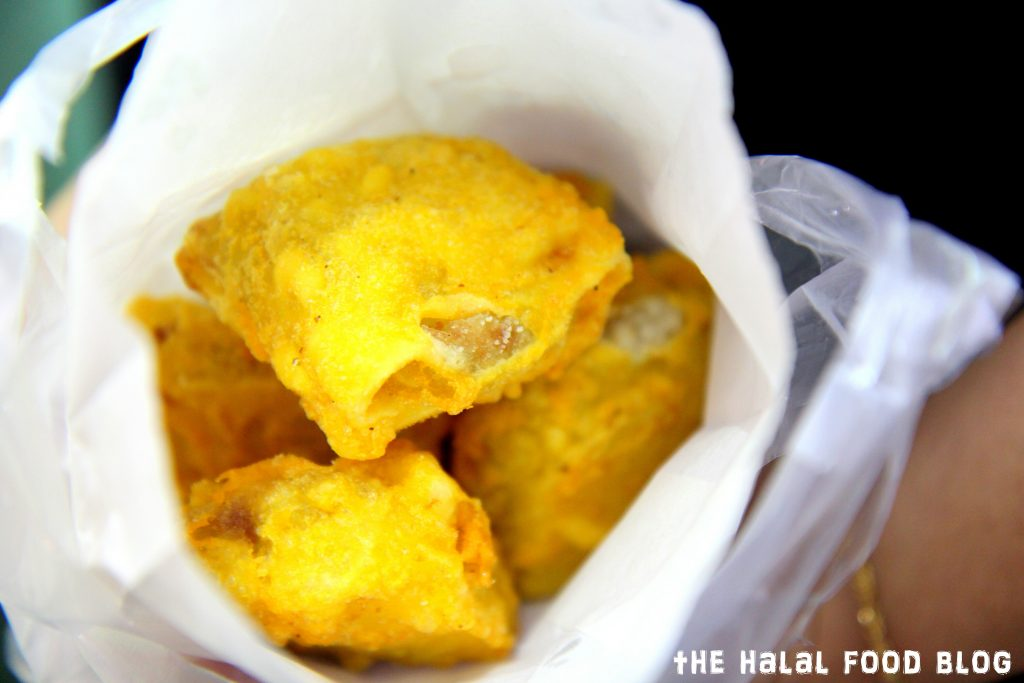 Fried Durian ($7.00)