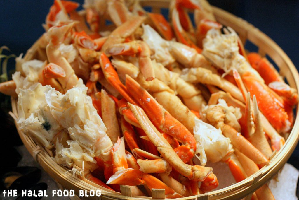 Cold Seafood Spread - King Crab Legs