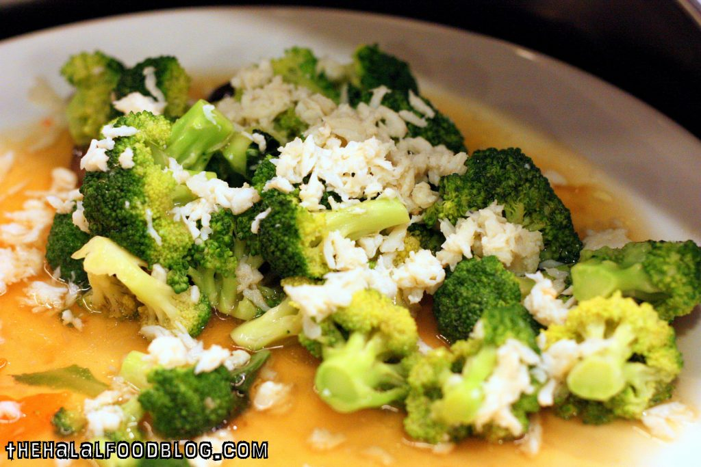 Broccoli with Crab Meat