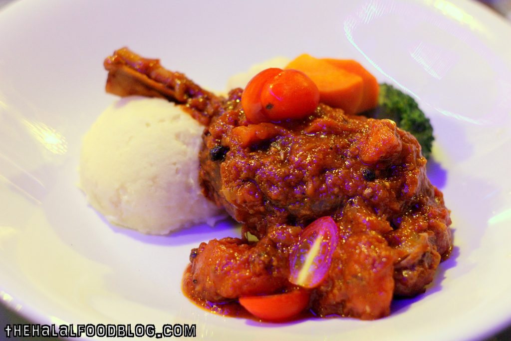Slow Braised Lamb Shank ($23.90)