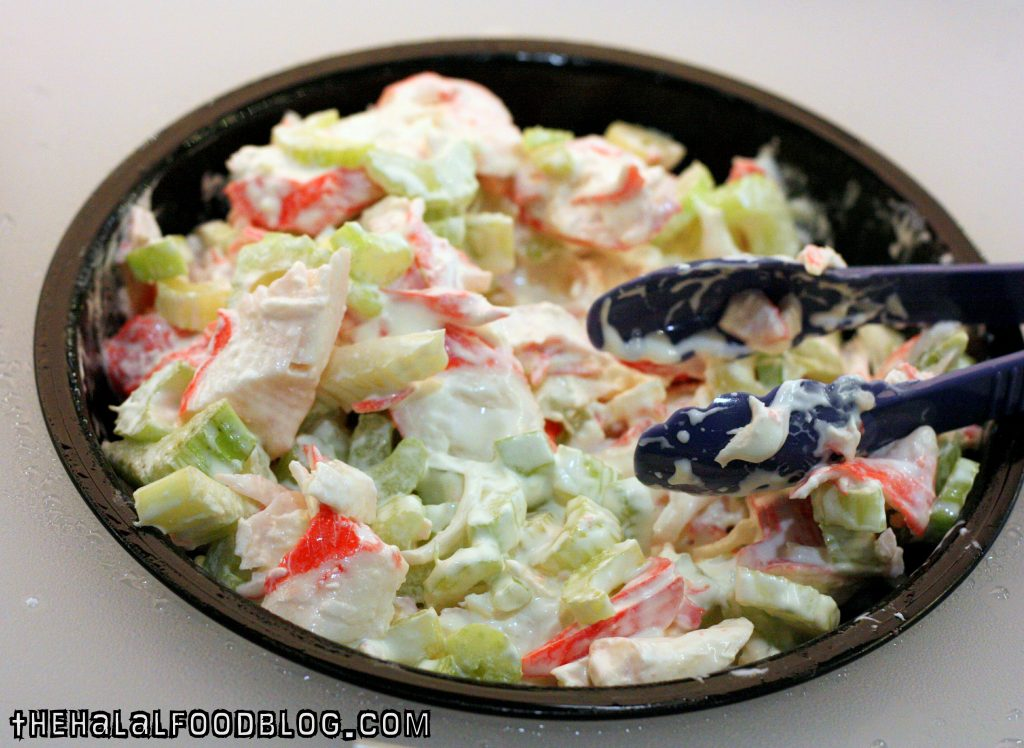 Crab and Celery Salad