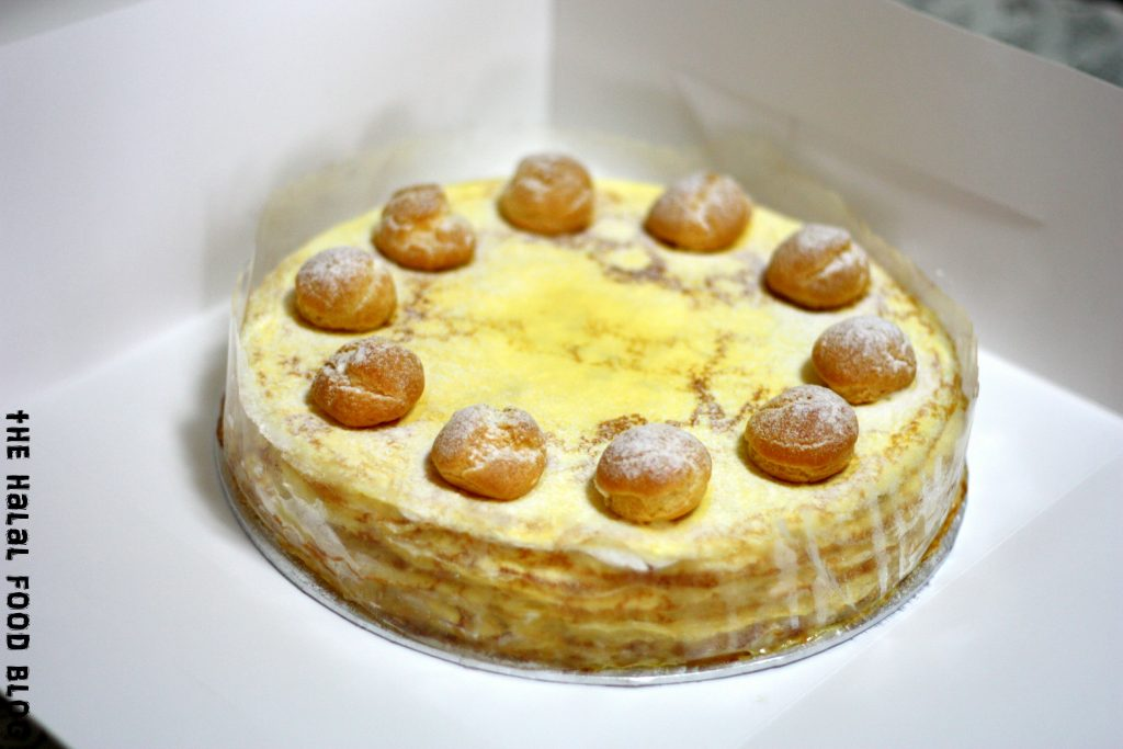 Durian Chantilly Mille Crepe