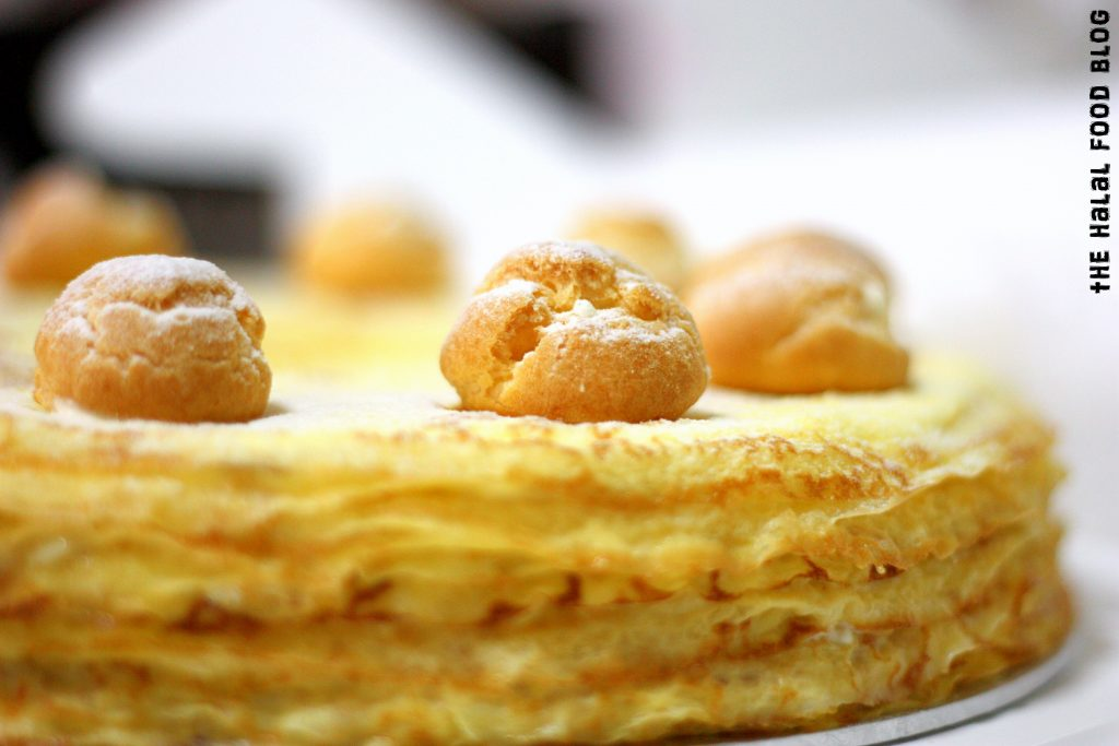The Worktable Confections - Durian Chantilly Millecrepe 04