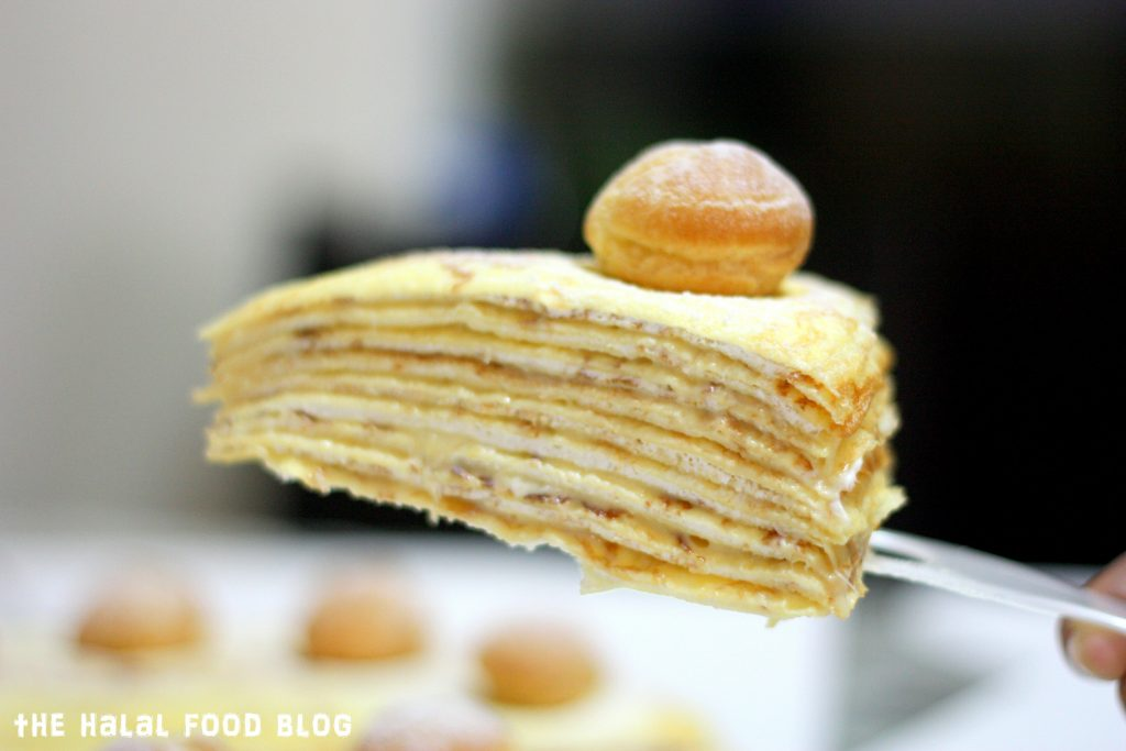 The Worktable Confections - Durian Chantilly Millecrepe 06