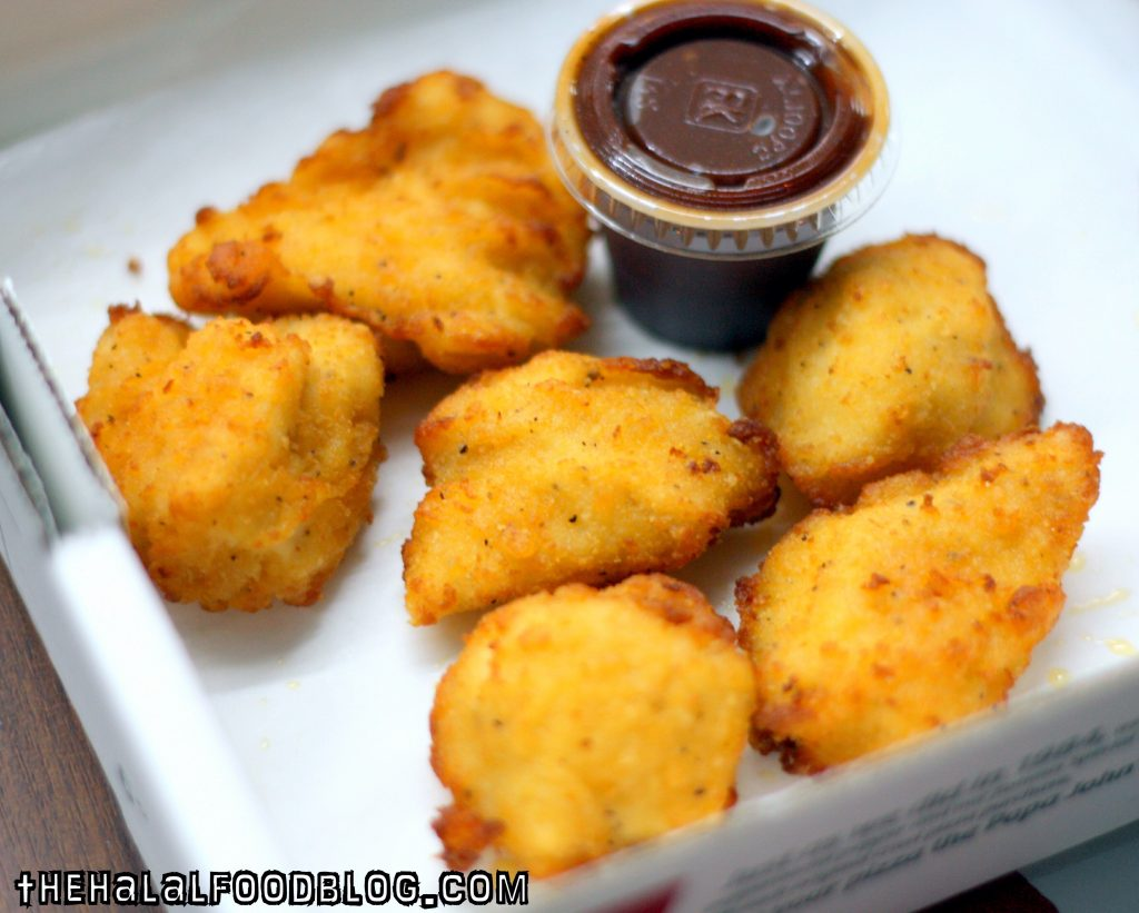 Chicken Poppers ($5.90 for 6pcs)