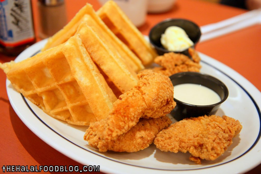 Chicken and Waffles (AED 45)
