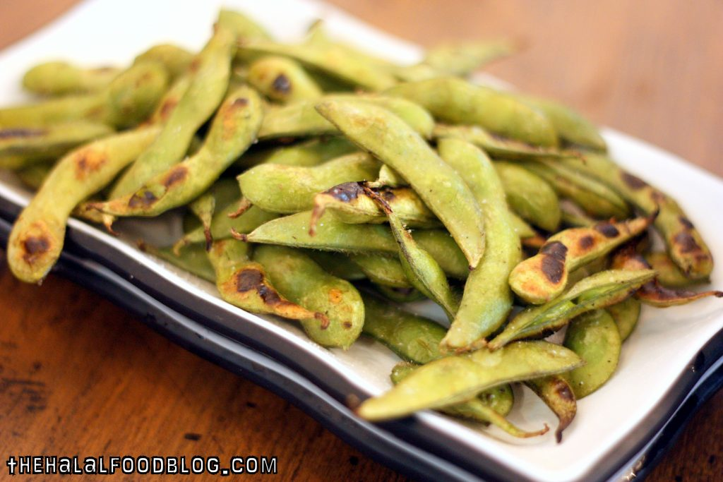 Grilled Edamame ($6.90)