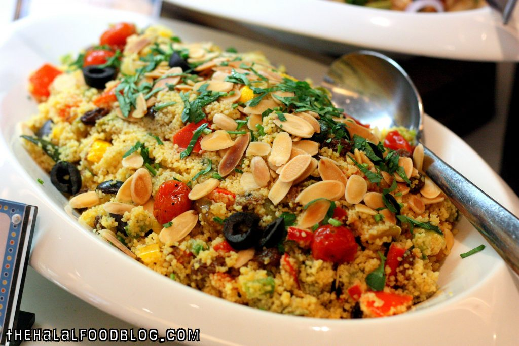 Couscous with Moroccan Spice and Capsicum
