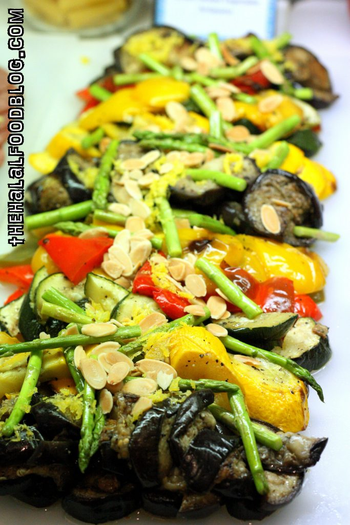 Grilled Mixed Vegetables Antipasto