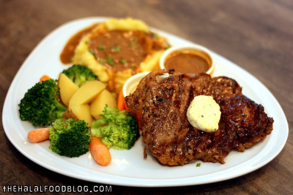 Angus Ribeye Steak ($24.90)