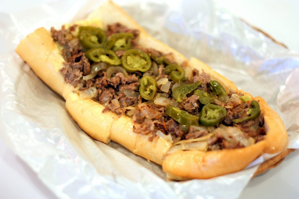 King of Philly Cheese Steak ($19.90)