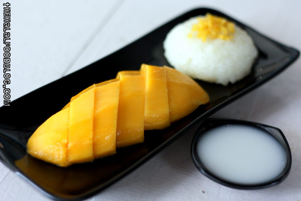 Mango Sticky Rice ($8.90)