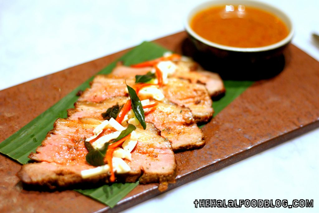 Baked Striploin with Rendang Sauce