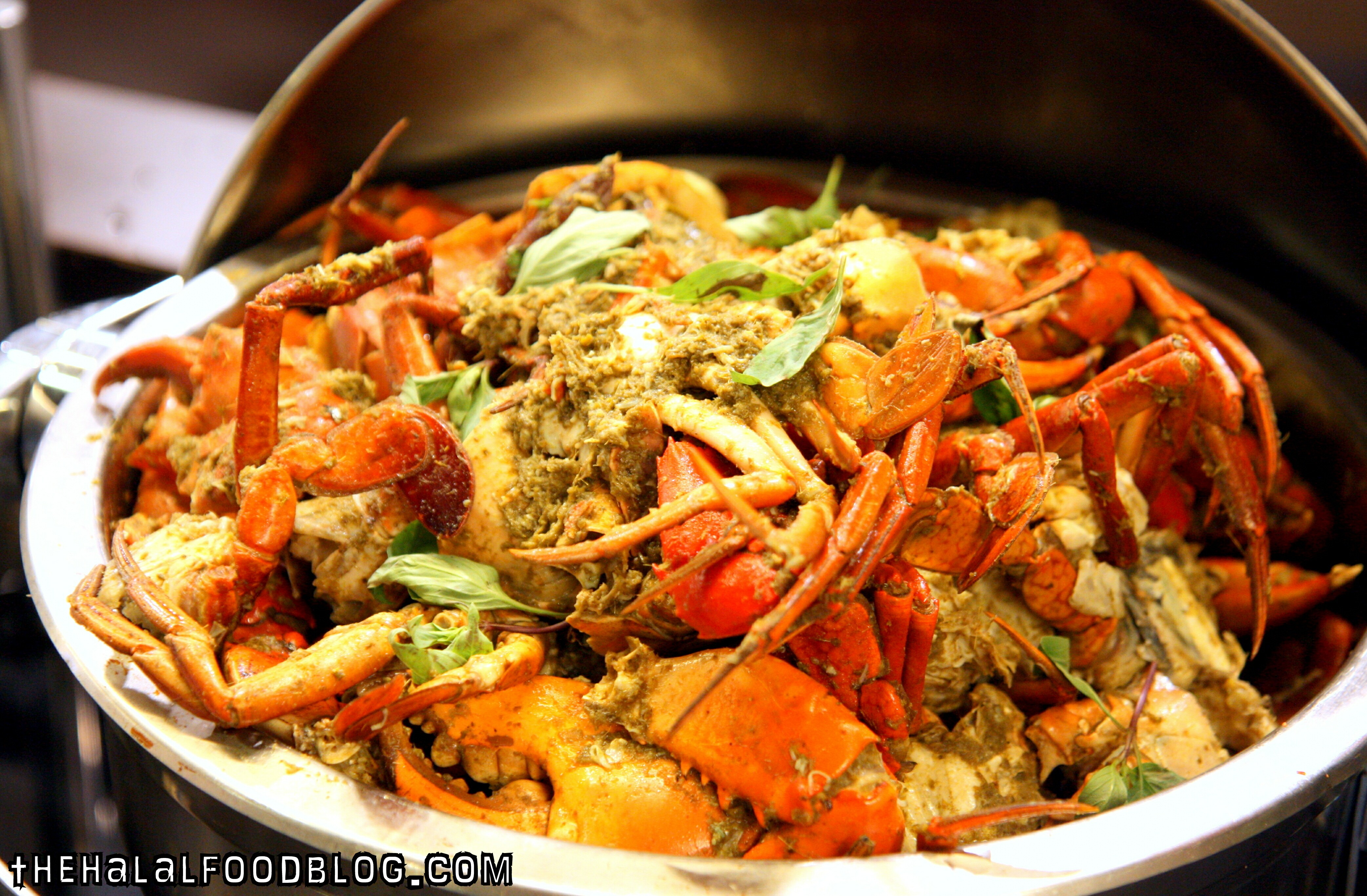 Green Curry Crab