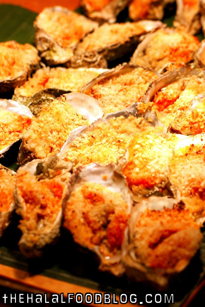 Penang St Buffet East vs West 17 Baked Oysters