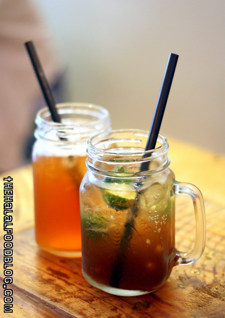 Iced Earl Grey Lime and Iced Mojito Lime ($6.90 each)
