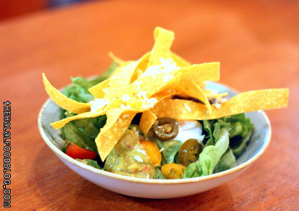 Tortilla Salad With Lime Dressing ($8.00)