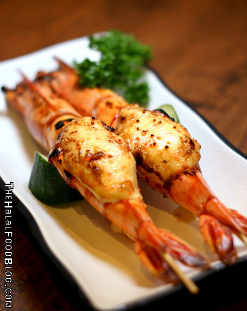 Prawn with Roe & Mayonnaise ($3.90 or $7.90)