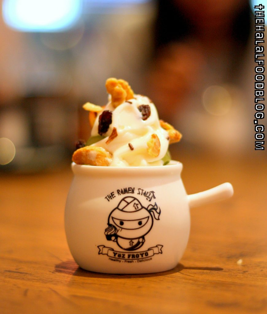 The Ramen Stall Part III 33 Frozen Yoghurt