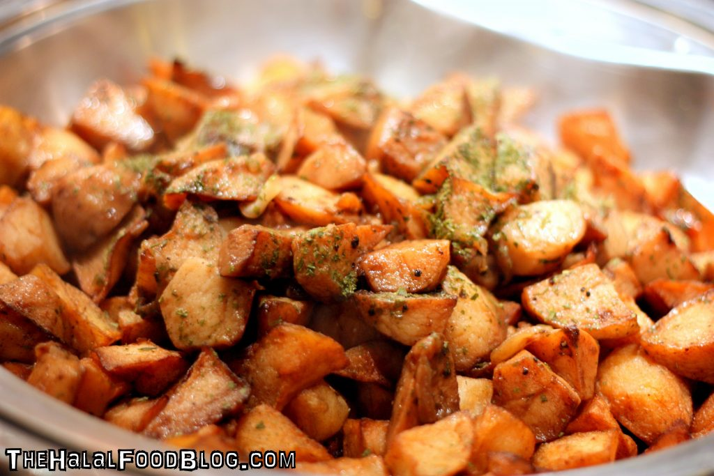 Sauteed Potato with Onion