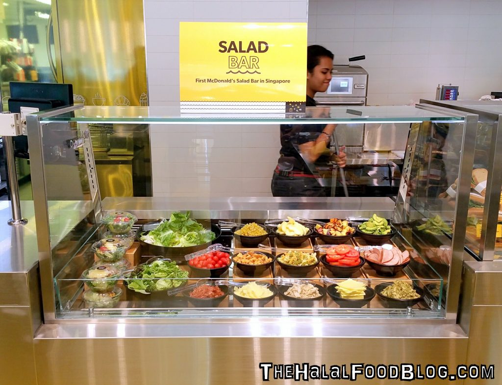 McDonalds Marine Cove 16 Salad Bar