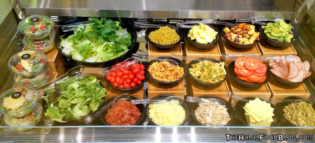 McDonalds Marine Cove 17 Salad Bar
