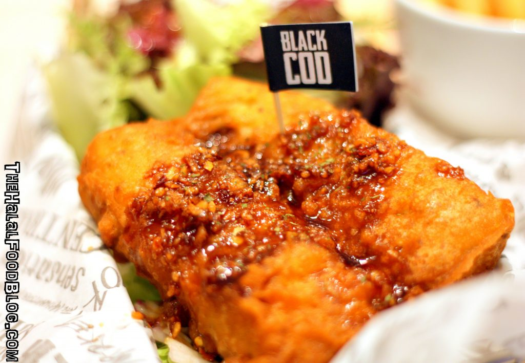 The Manhattan FISH MARKET Signature Fish 'N Chips 05 Garlic Ginger Black Cod 'N Chips