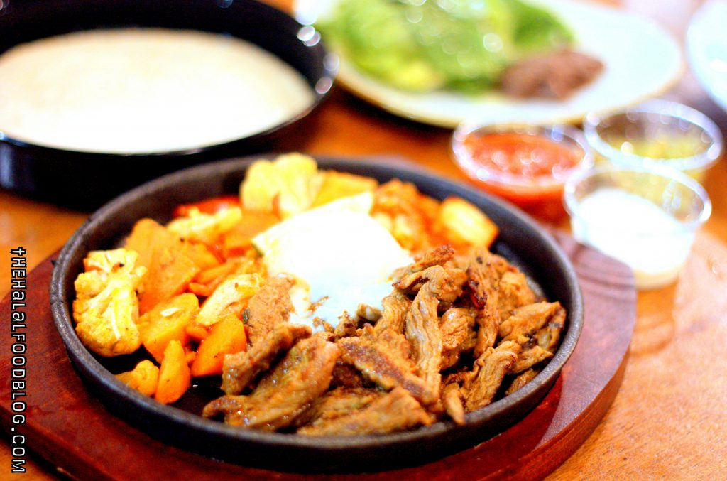 Fajitas at FIX