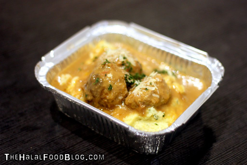 Handmade Meatballs with Mash ($6.00)