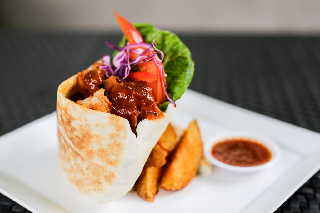 Sambal Fish Wrap