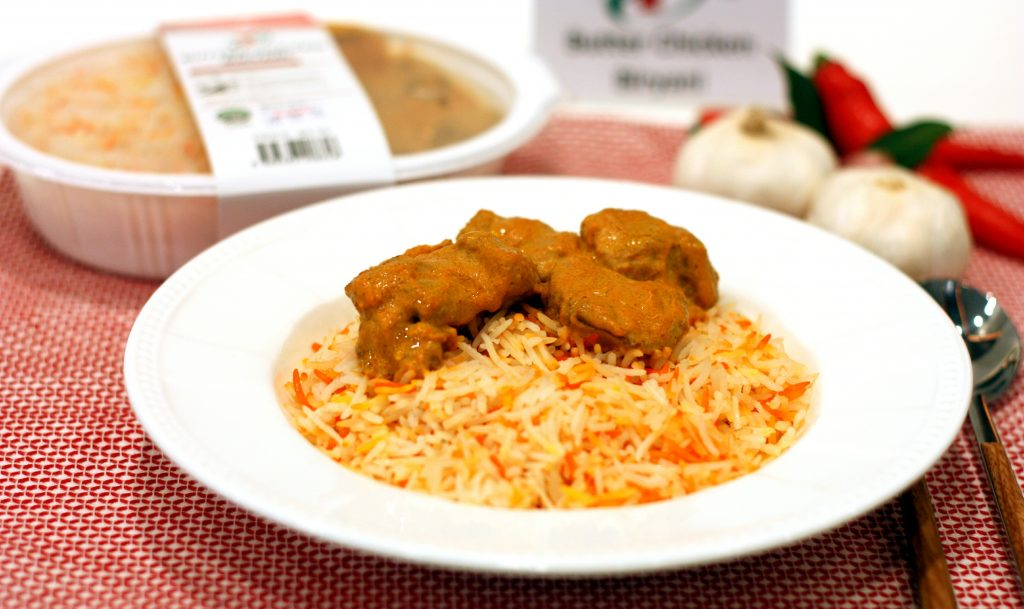 Butter Chicken Briyani ($3.90)