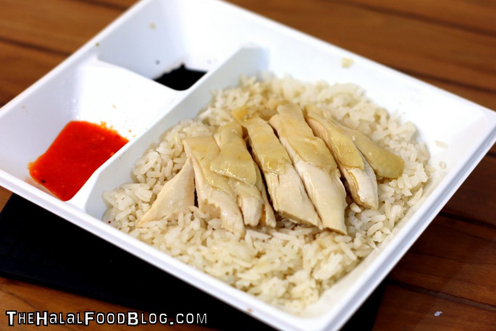 Hainanese Chicken Rice ($3.50)