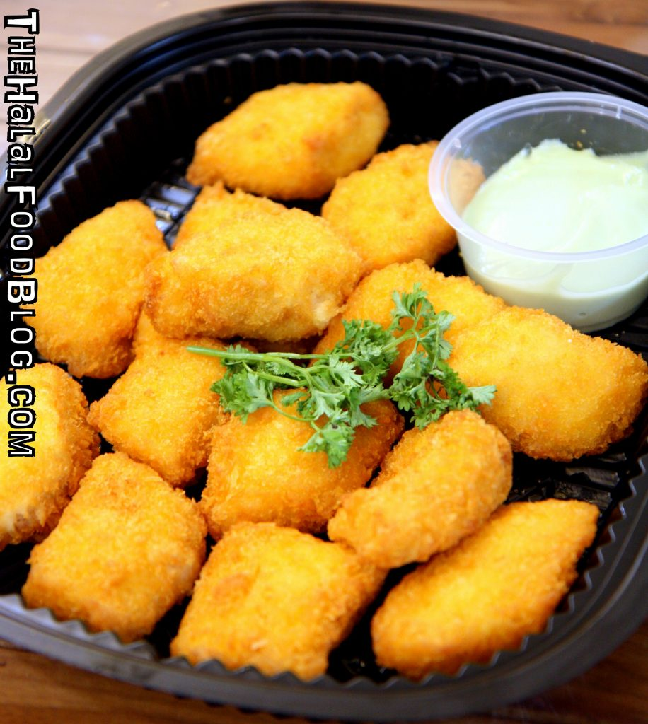 Golden Breaded Fish Fillet with Wasabi Mayo