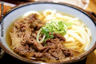 Udon Noodles with Beef (¥630)