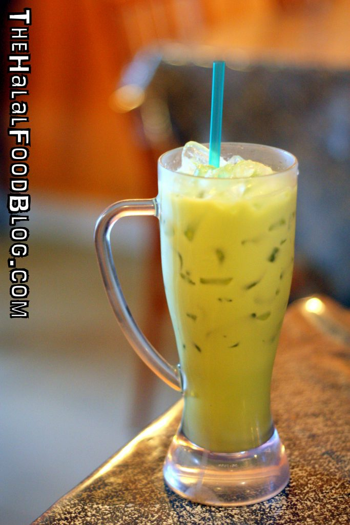 Thai Iced Green Tea ($2.50)