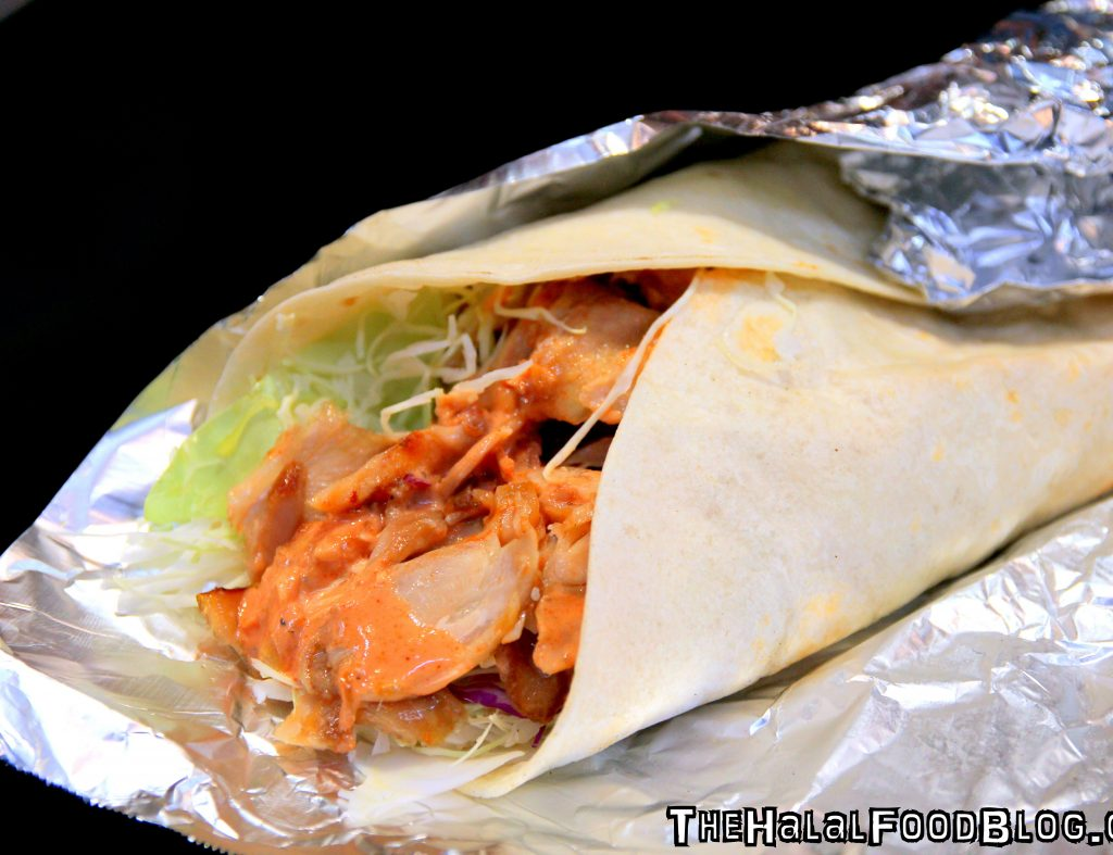 Chicken Kebab Wrap (¥600)