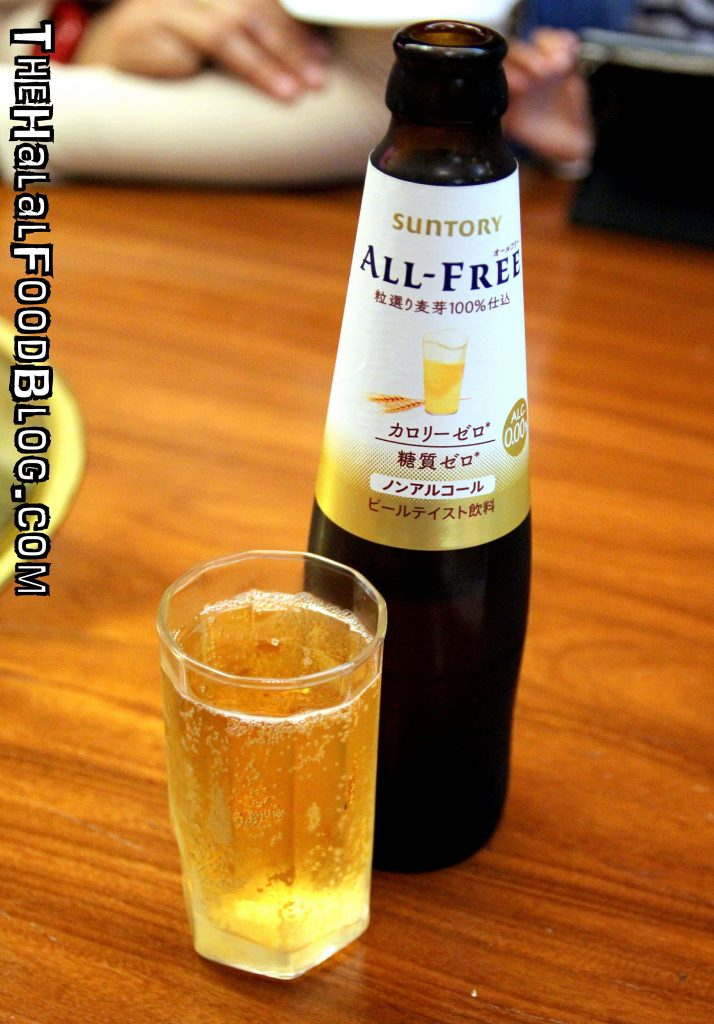 Suntory All-Free Non-Alcholic Malt Beverage (¥500)