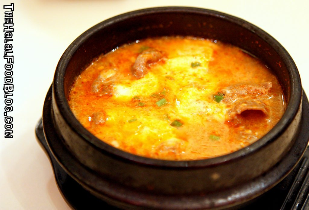 Beef Cheese Soondubu Jigae (RM21.90 set)