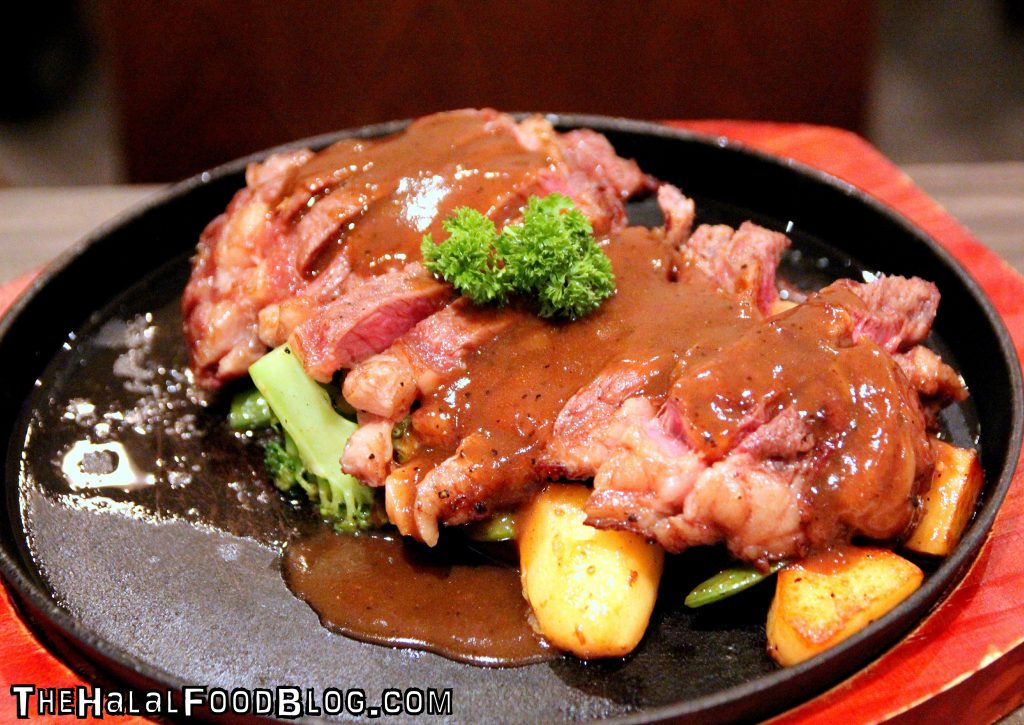 Black Pepper Steak ($29.90)