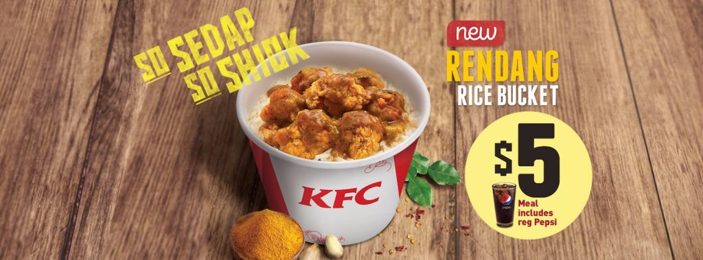 KFC Rendang Rice Bucket