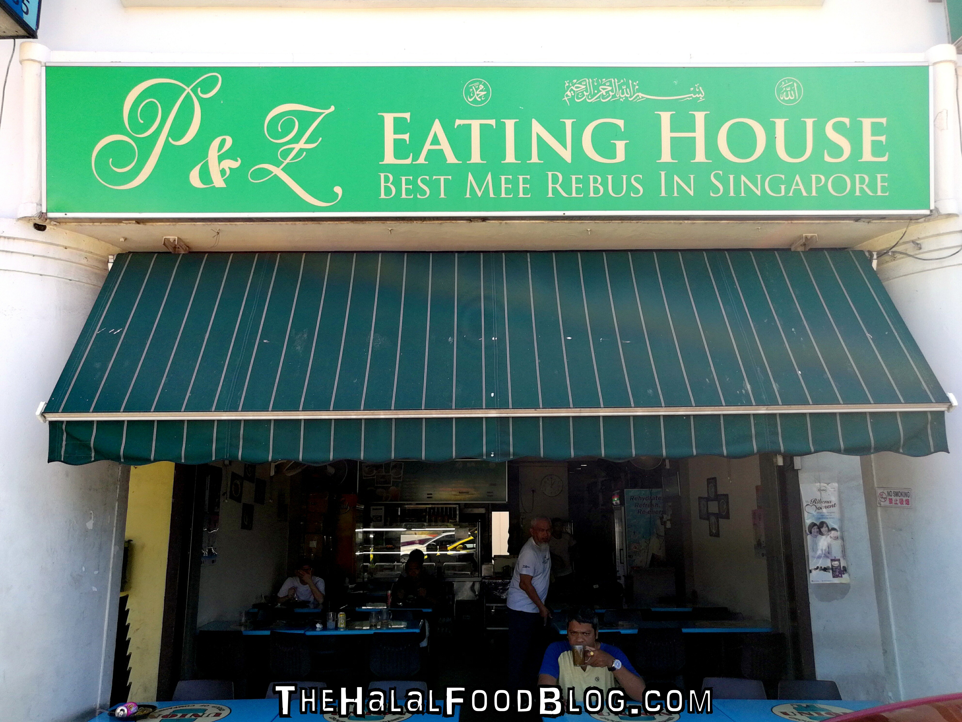 P&Z Eating House - Best Mee Rebus In Singapore - The Halal Food Blog
