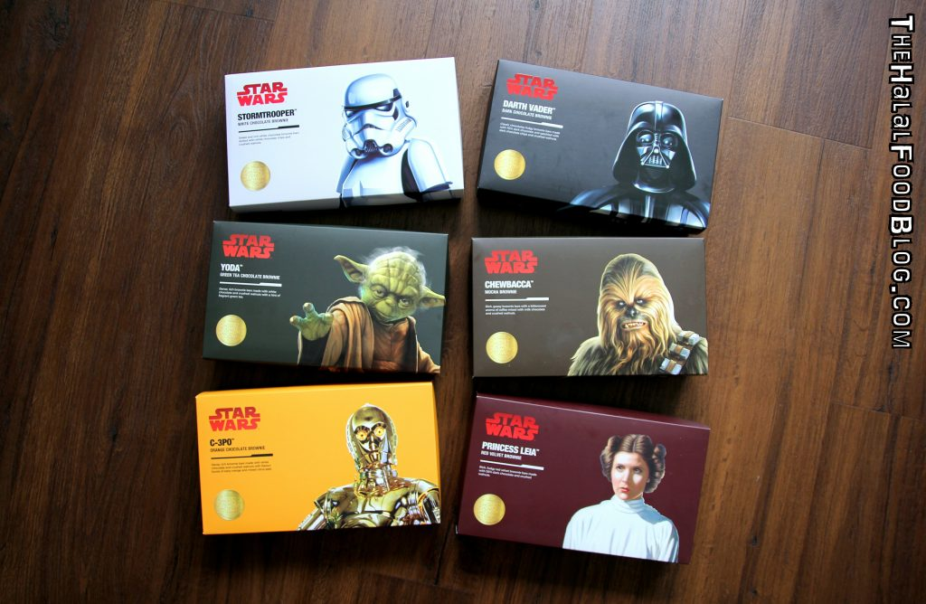 Swissbake – STAR WARS™ Brownies