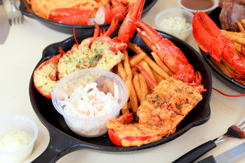 Fish & Chicks - Lobster Feast!! - The Halal Food Blog